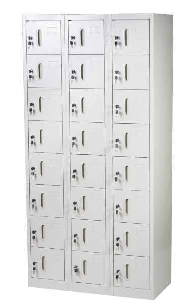 locker de 10 casilleros con porta candado - Muebles Easy Hub